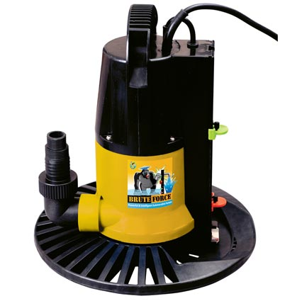 Brute Force Hi Output In Ground Pool Winter Cover Pump