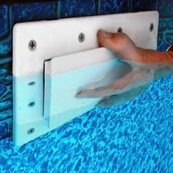 Swimming Pool Skimmer Plug / Return Outlet Plug Combo