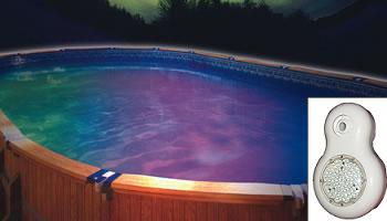 Above ground pool lighting lighting ideas for Above ground pool lighting ideas