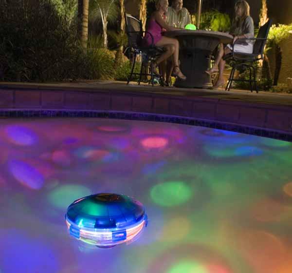 Led Rope Light For Swimming Pool: Underwater Starship Swimming Pool Light