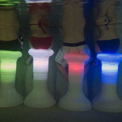 Led Pool Stool Swimming Pool Lights