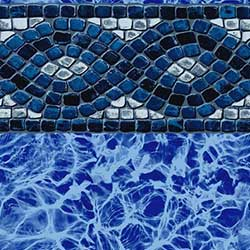 Mediterranean 20/30 mil InGround Pool Liner