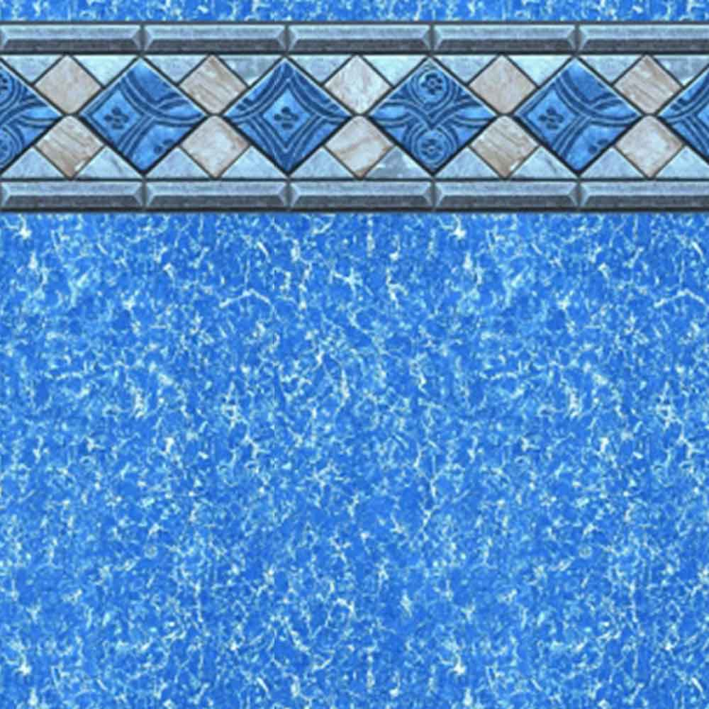 Sandbar tile 54 inch beaded swimming pool liner for Swimming pool liners wholesale