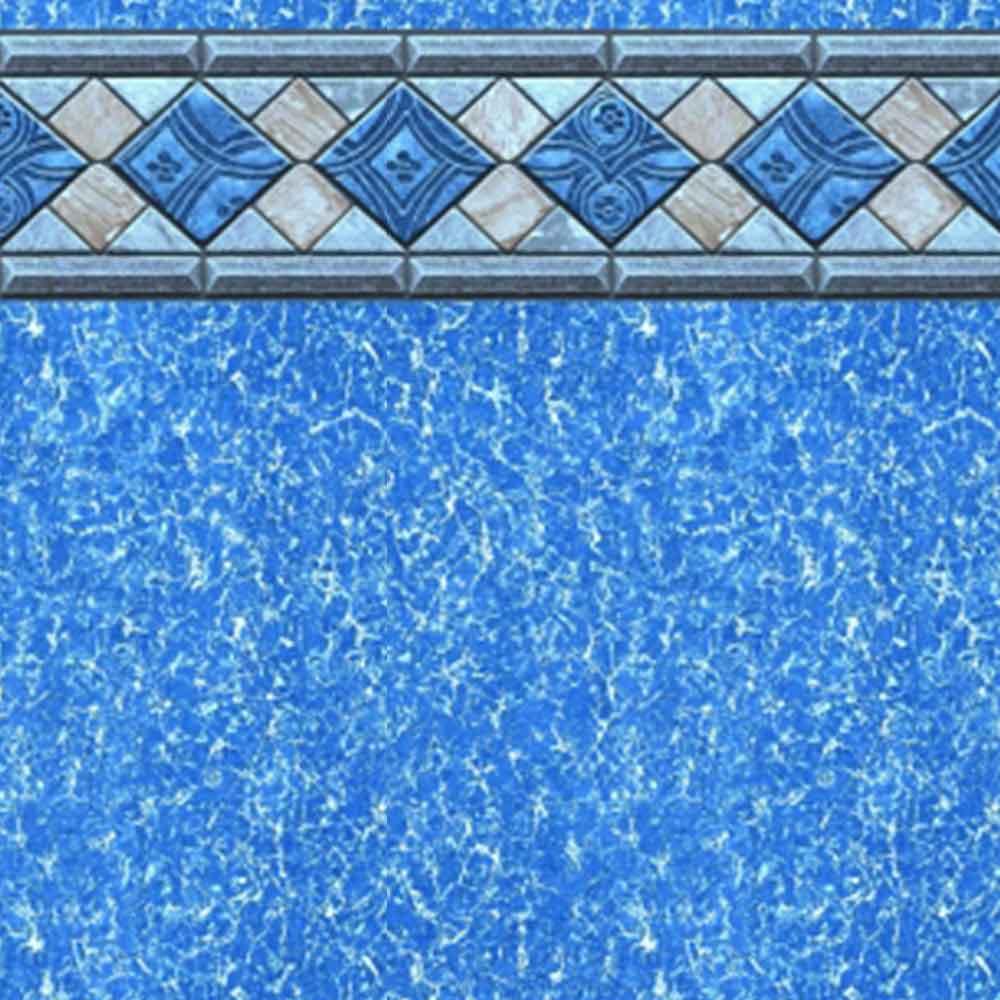 Sandbar Tile 54 Inch Beaded Swimming Pool Liner