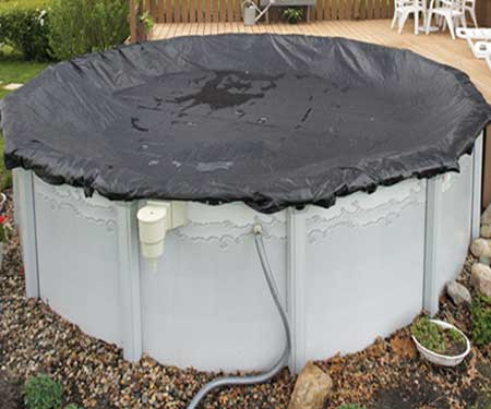 Mesh covers for above ground swimming pools - Above ground swimming pool covers ...