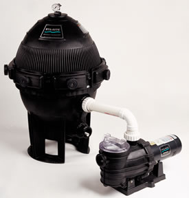 Sta-Rite Mod Media In Ground Pool Cartridge Filter System