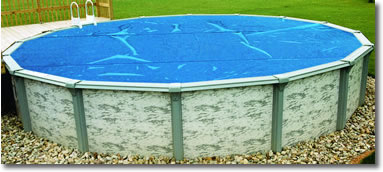 Blue Above Ground Pool Solar Blanket