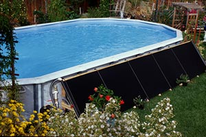 SunGrabber Above Ground Pool Solar Heater