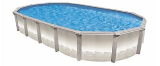 Aruba 54 in. Resin Above Ground Pool