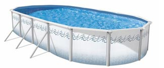 Atlantis 48 in. Steel Above Ground Pool
