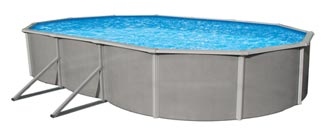 Belize 52 in. Steel Above Ground  Pool