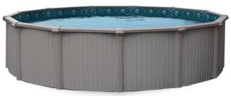 Bermuda 54 in. Aluminum Above Ground Pool