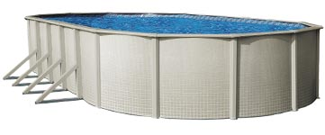 Captiva 48 in. Steel Above Ground Pool