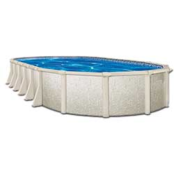 Crystal Lake 52 in. Resin Above Ground Pool