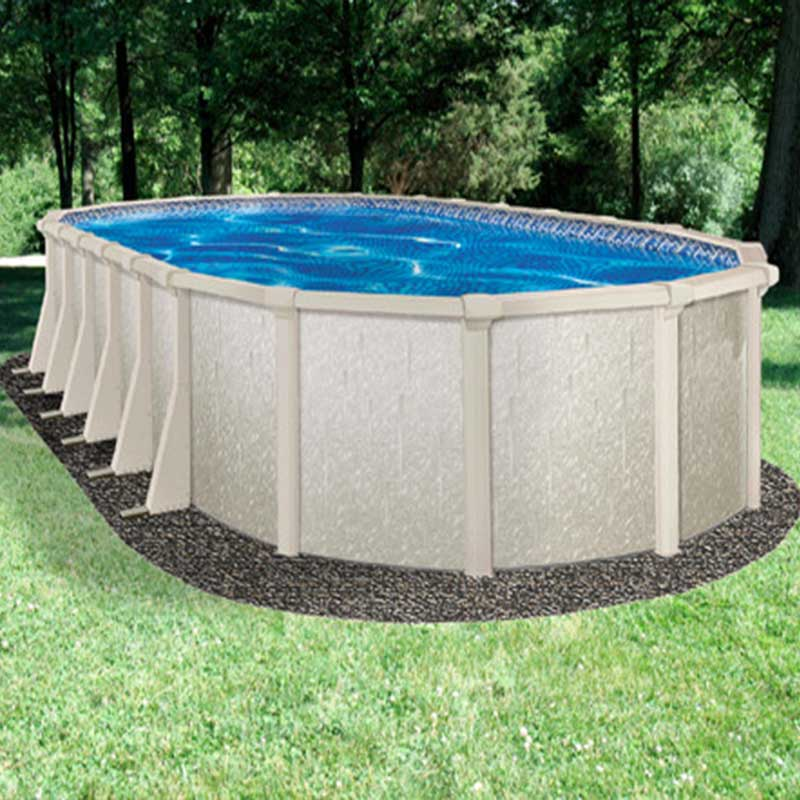 Crystal lake 52 above ground swimming pool kit for Resin above ground swimming pools