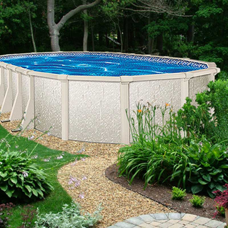 Crystal lake 52 above ground swimming pool kit for High quality above ground pools