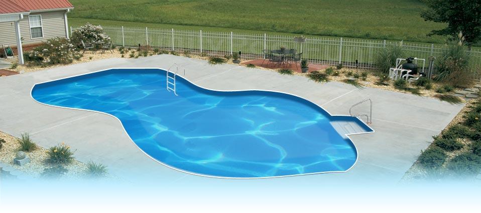 Endurapool Auburn Lake In Ground Swimming Pool Kit
