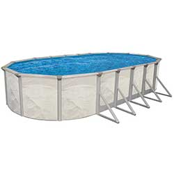 EZ Sunday 48 in. Steel Above Ground Pool