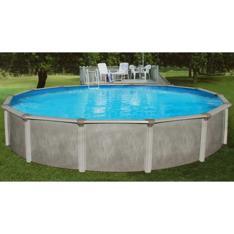 fijian ez 52 steel above ground swimming pool kit