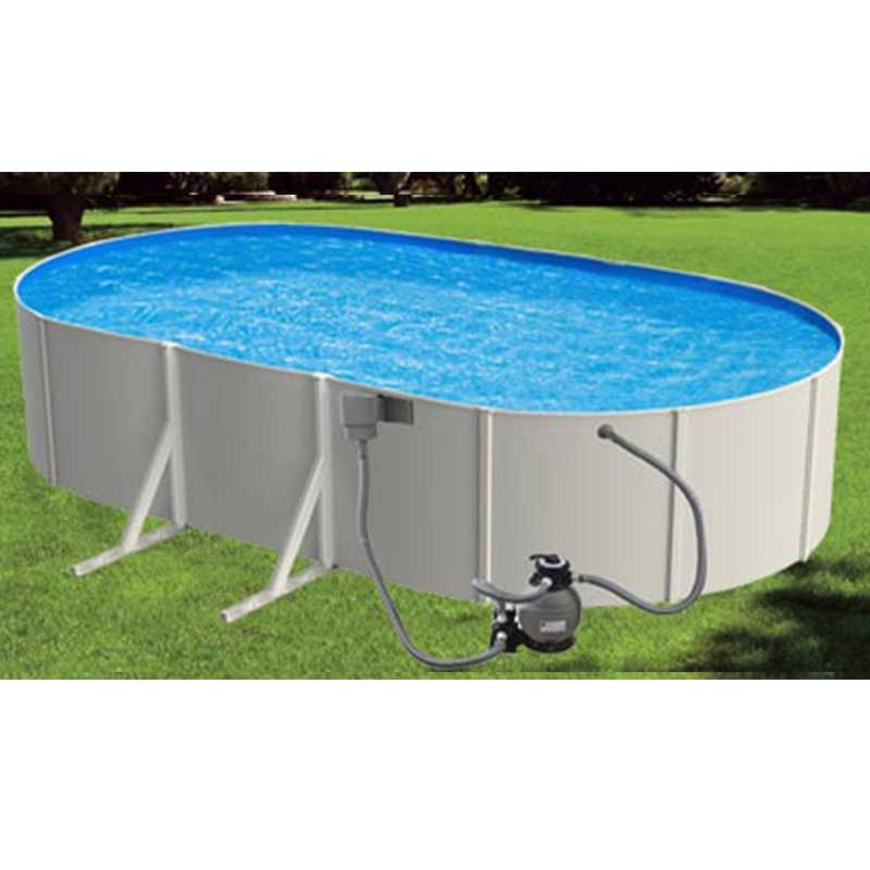 Galaxy Steel Above Ground Swimming Pool Kit