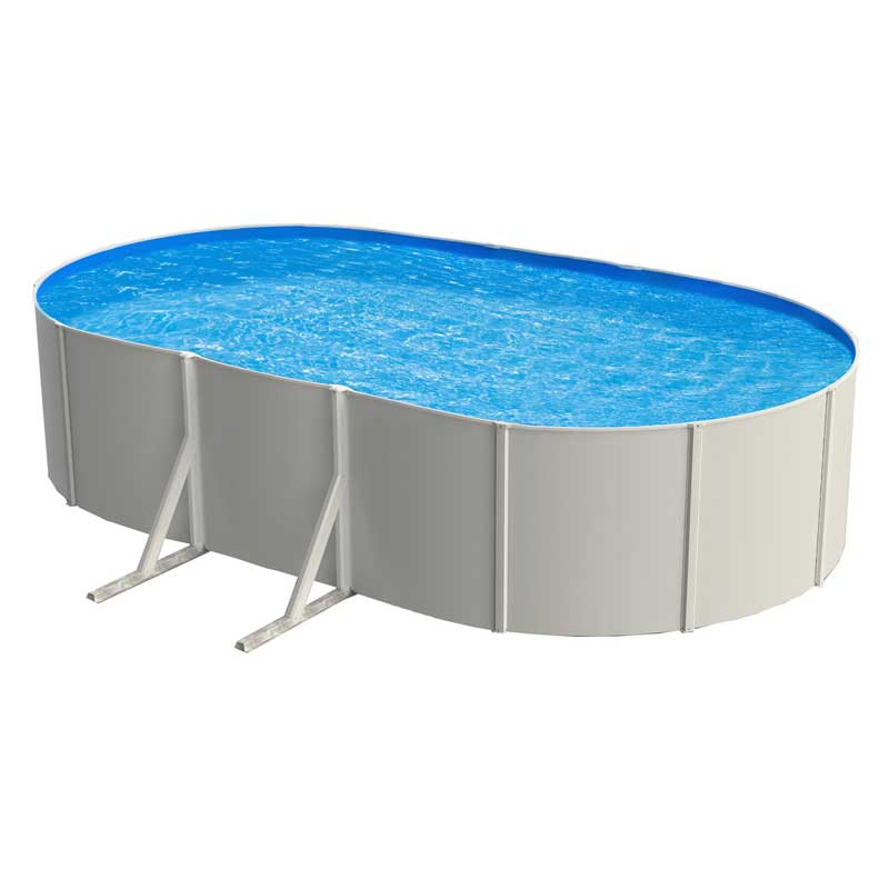 Galaxy steel above ground swimming pool kit for Above ground pool kits