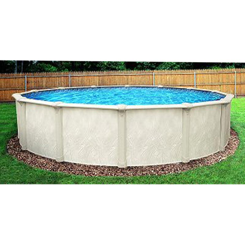 Opera 52 above ground swimming pool kit for Steel above ground swimming pools