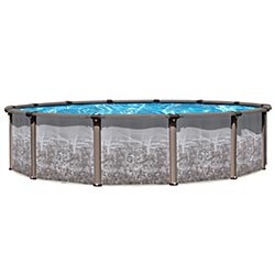 Riviera Regency 54 in. Resin Above Ground Pool