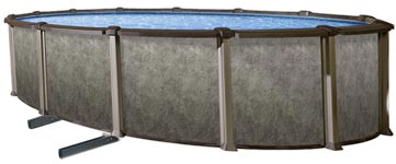 Riviera 54 in. Resin Above Ground Pool