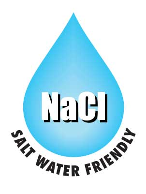 Salt water friendly logo