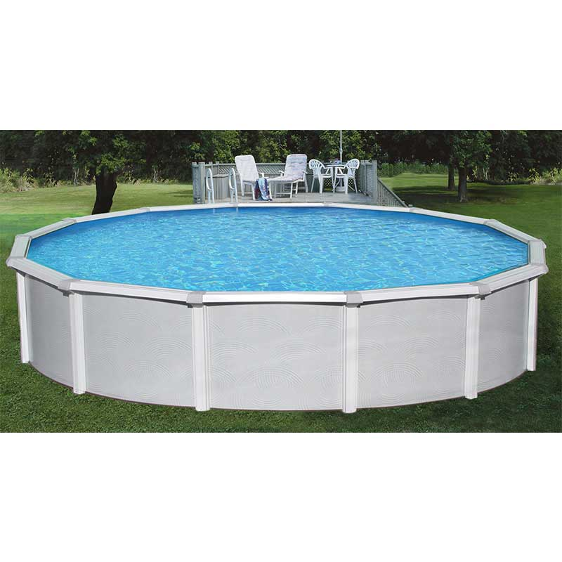 samoan 52 steel above ground swimming pool kit