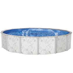 Sanibel Island EZ 52 in. Steel Above Ground Pool
