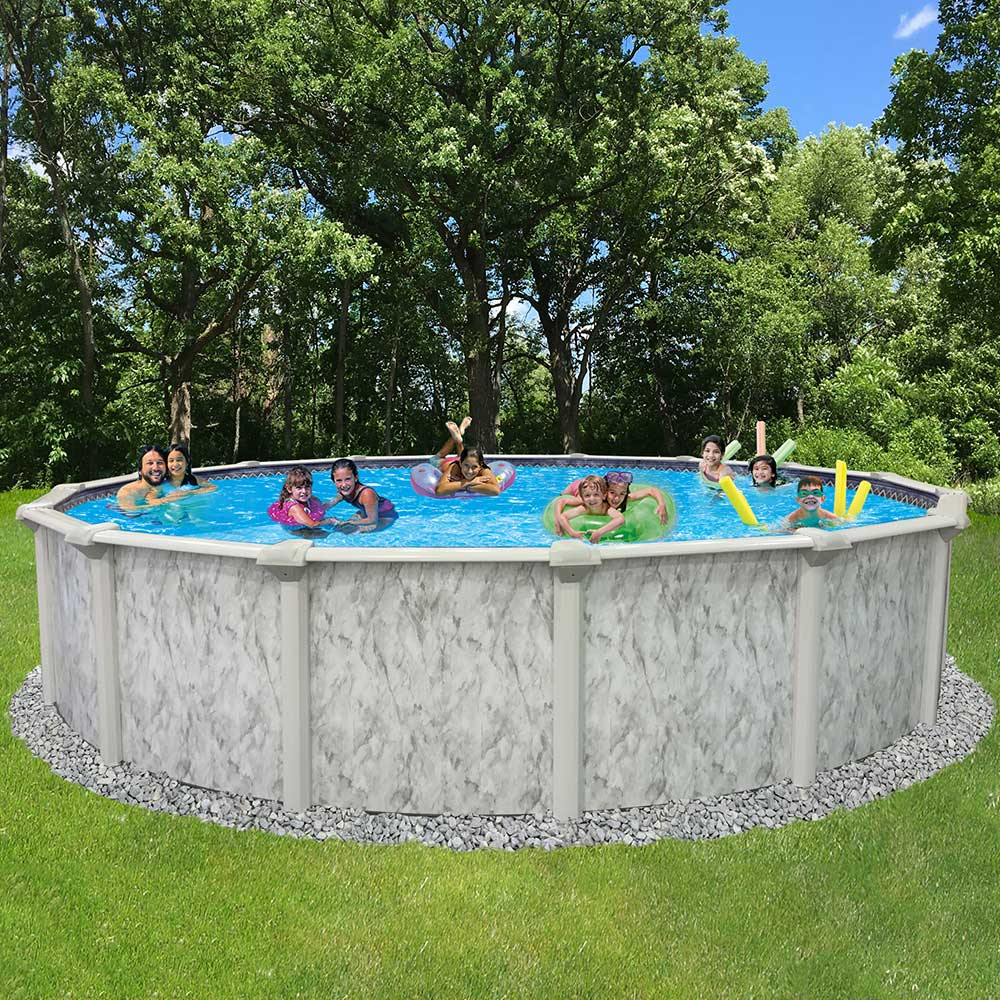 St Kitts Ez 54 In Resin Above Ground Pool