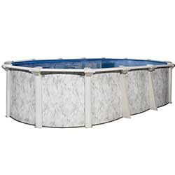 St. Kitts EZ 54 in. Resin Above Ground Pool