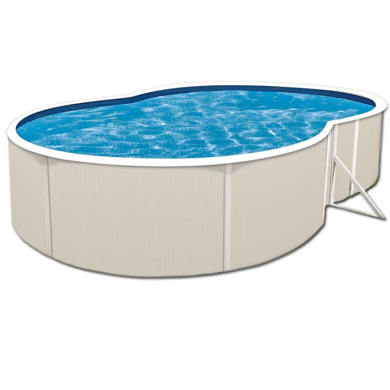 Sunray 48 in steel above ground pool for Steel above ground swimming pools