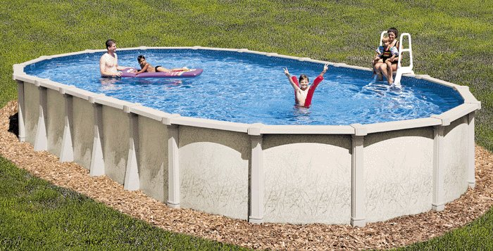 Tahitian 54 Above Ground Swimming Pool Kit