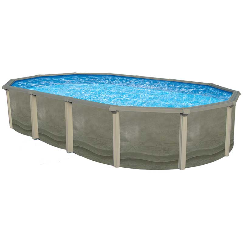 Trinity resin above ground pool - Above ground resin swimming pools ...