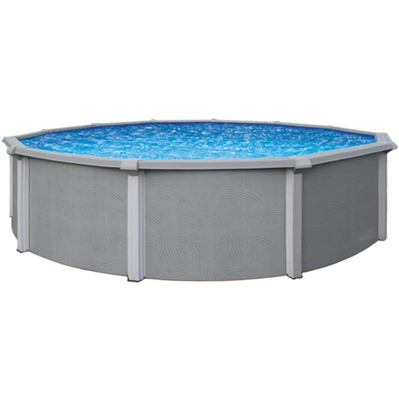 Zanzibar 54 resin above ground swimming pool kit for Resin above ground swimming pools