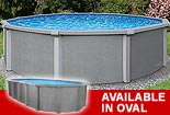 Zanzibar 54 in. Resin Above Ground Pool