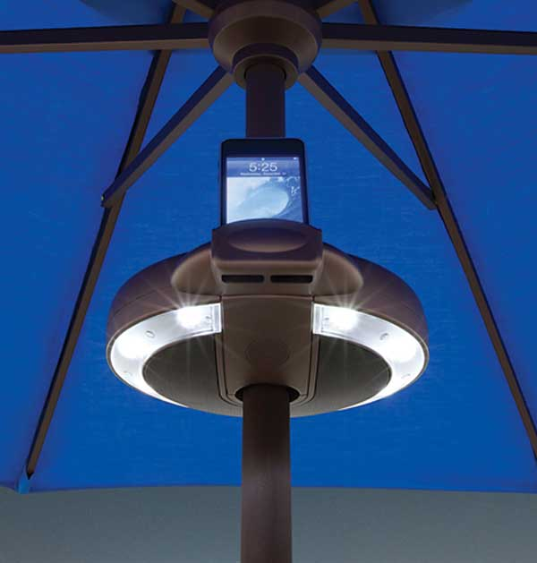 Serenata Light And Sound System For Market Umbrellas