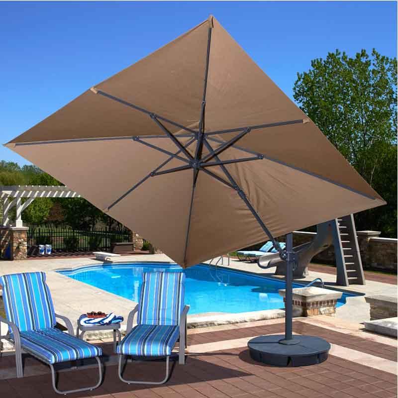Santorini Ii Square Cantilever Umbrella