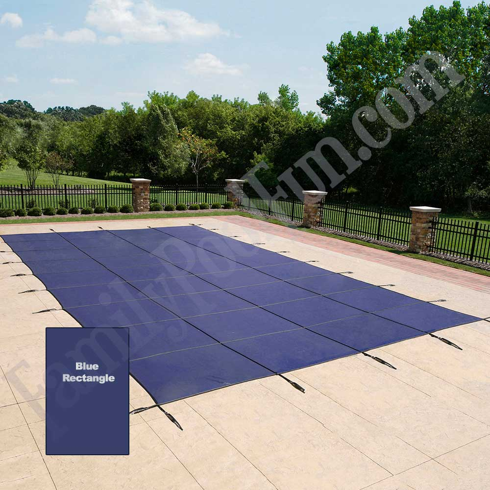 18 Year Heavy Duty In Ground Pool Mesh Safety Covers