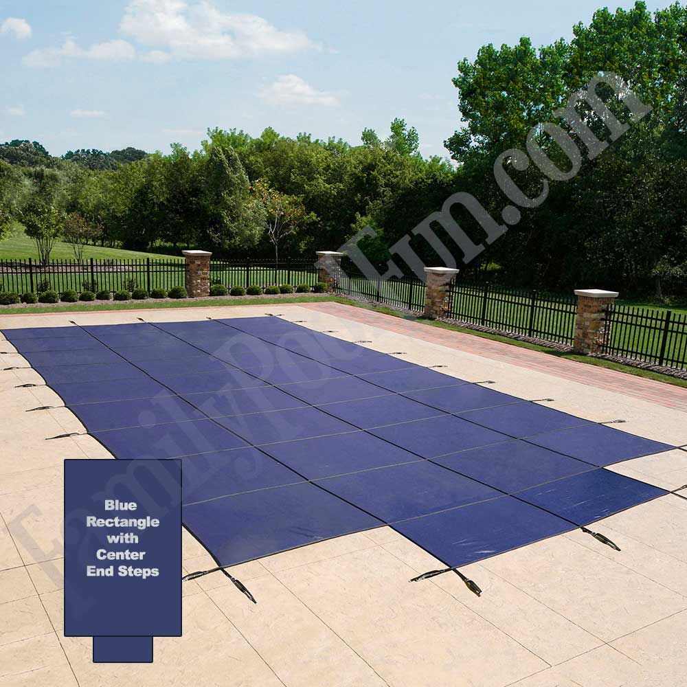 18 Year Heavy Duty Inground Mesh Safety Covers With Steps