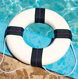 Foam Life Saver Ring Swimming Pool Safety Bouy