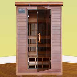 Yukon Ultra 2 Person Carbon Infrared Home Sauna