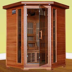 Hudson Bay Ultra 3 Person Carbon Infrared Home Sauna