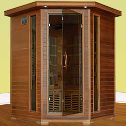 Whistler Ultra 4 Person Carbon Infrared Home Sauna