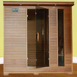 Great Bear Ultra 6 Person Carbon Infrared Home Sauna
