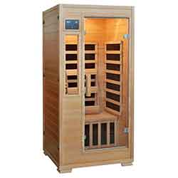 Genesis Series 1 Person Carbon Sauna