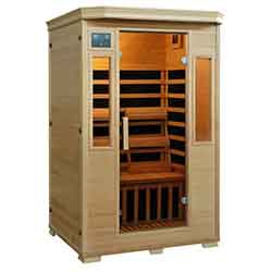 Genesis Series 2 Person Carbon Sauna