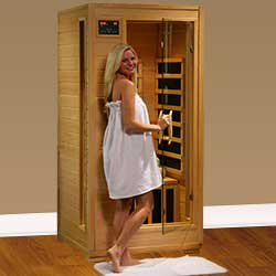 Buena Vista Ultra 1 Person Carbon Infrared Home Sauna